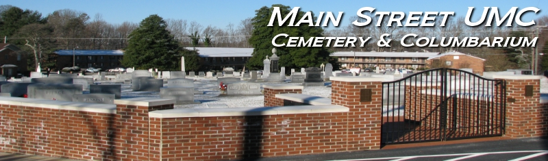 Main Street Cemetery Information
