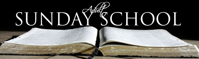Adult Sunday School - List, Locations, Map