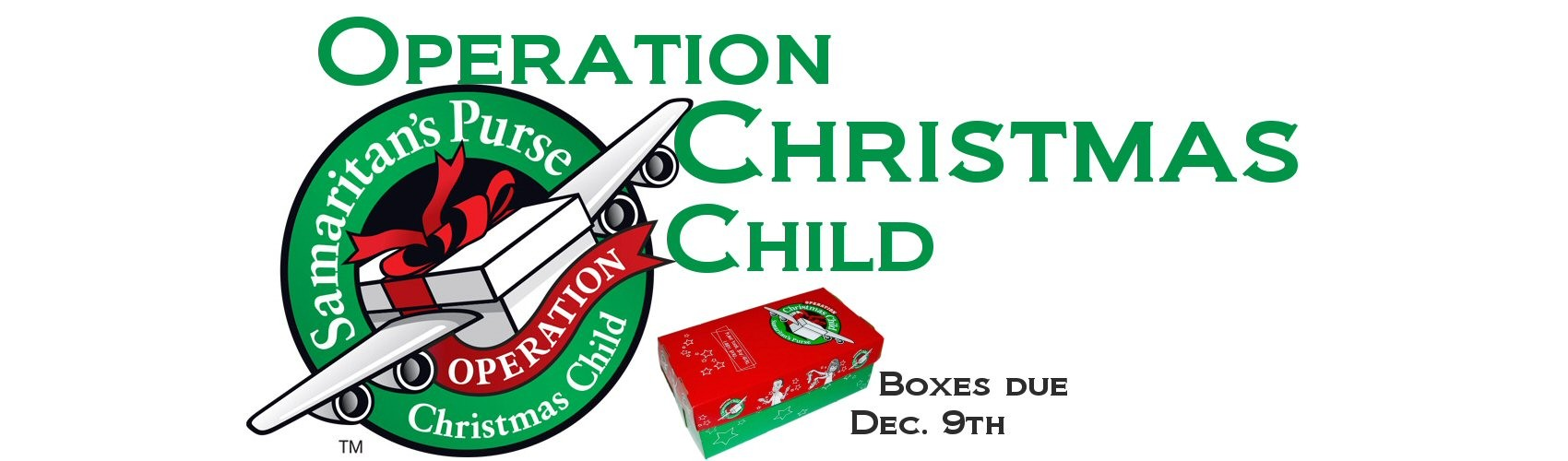 Operation Christmas Child Shoesbox