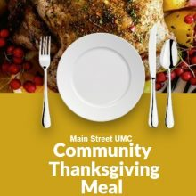 Main Street UMC Community Thanksgiving Meal