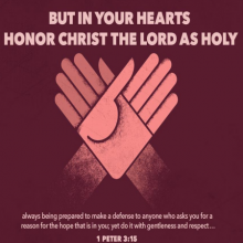 Honor Christ