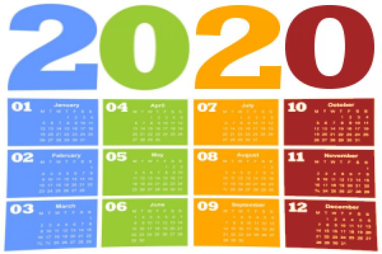 202 0Calendar