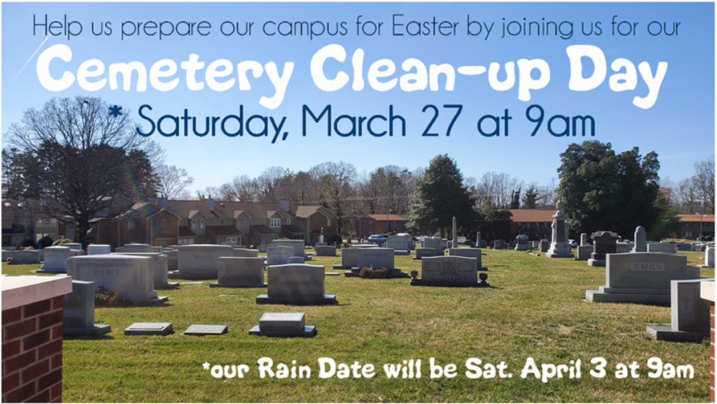 Cemetery Clean-Up Day